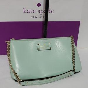 Kate Spade Wellesley Byrd Robin's Egg Bag